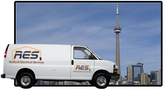 Renforth Electrical Services Van